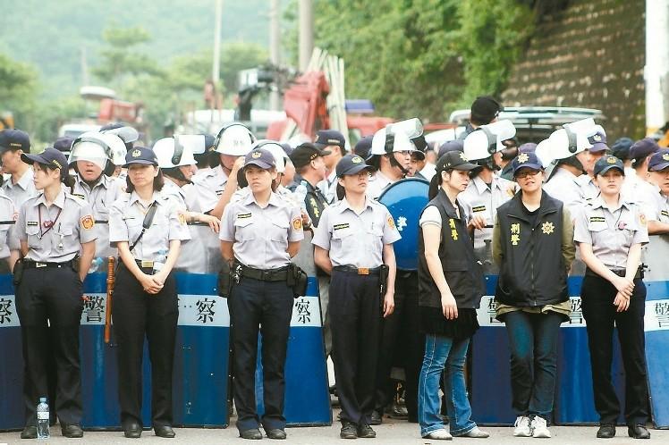 四等警察特考 報到女性創紀錄