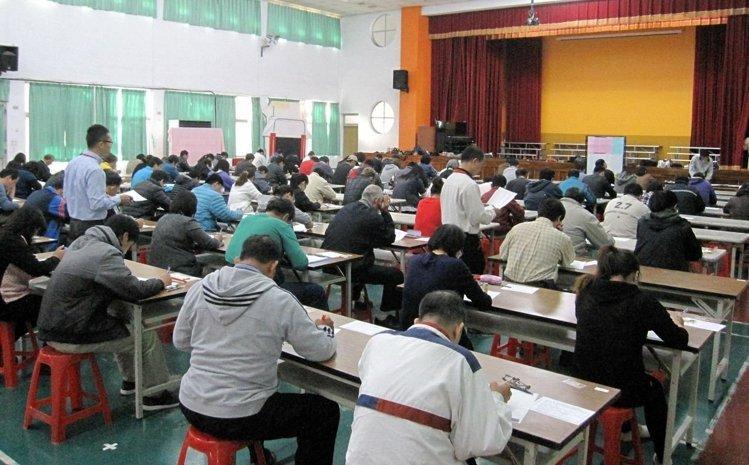 台南市府臨時人員招考 平均錄取率10.58%