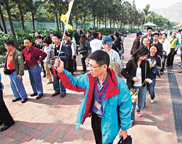 華語導遊領隊 50歲以上上榜者最多